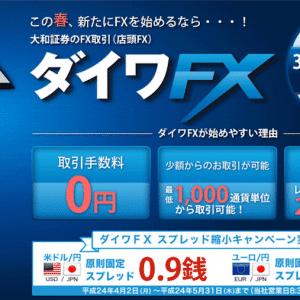 大和証券ダイワFX